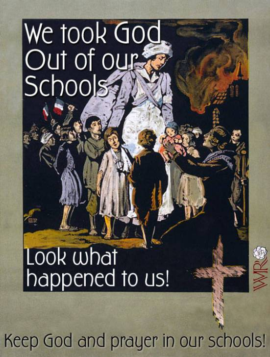 Who can really keep the God out of school?