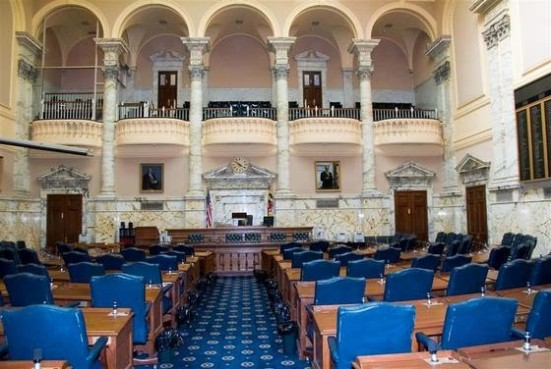 MD State House Chamber