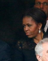 Things that make me shake my head: The fuss over the First Lady's Face