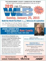 The 2015 Women's Legislative Briefing is coming!!!!
